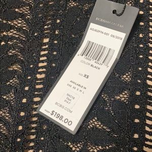 BCBGMaxAzria Dresses - BCBG Black lace dress
